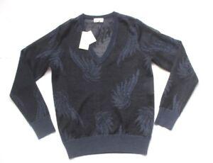 a Jemen con Maglione Dries a jersey maglia intarsi intarsi Noten Xs New Van UxOTvT