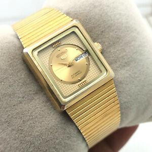 Womens Seiko 5 2949-0200 D/D 24mm Automatic Japan Made Wrist Watch B1626