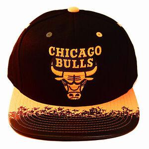 2261e7369b73c3 Image is loading Mitchell-amp-Ness-NBA-Chicago-Bulls-Black-Snapback-