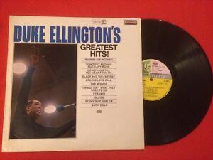 DUKE-ELLINGTON-039-S-GREATEST-HITS-RECORDED-LIVE-IN-CONCERT-VINYLE-33T-LP