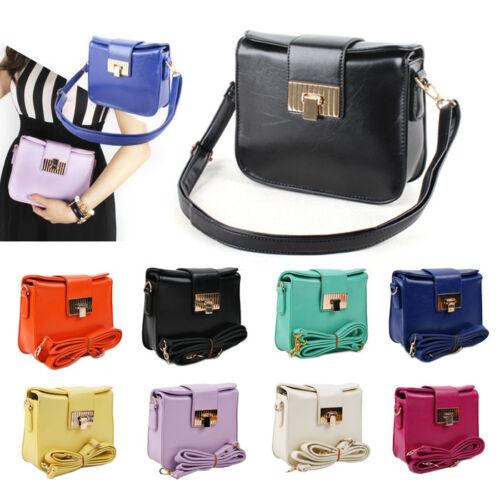 Women Ladies Bag Handbag Leather Shoulder Satchel messenger Cross Body