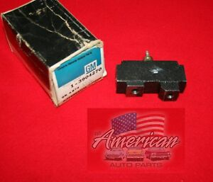 CHEVROLET-1967-1969-Camaro-GM-Brake-Distrubution-Block-Switch-New-Old-Stock