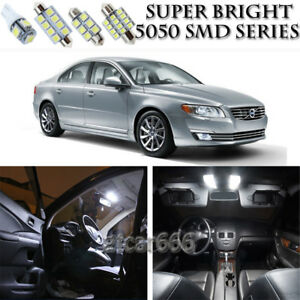 Details About 12pcs Xenon White Led Interior Lights Bulb Package Kit For Volvo S80 2007 2013