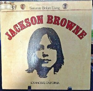 JACKSON BROWNE Self-Titled Album Released 1972 Vinyl/Record Collection US press
