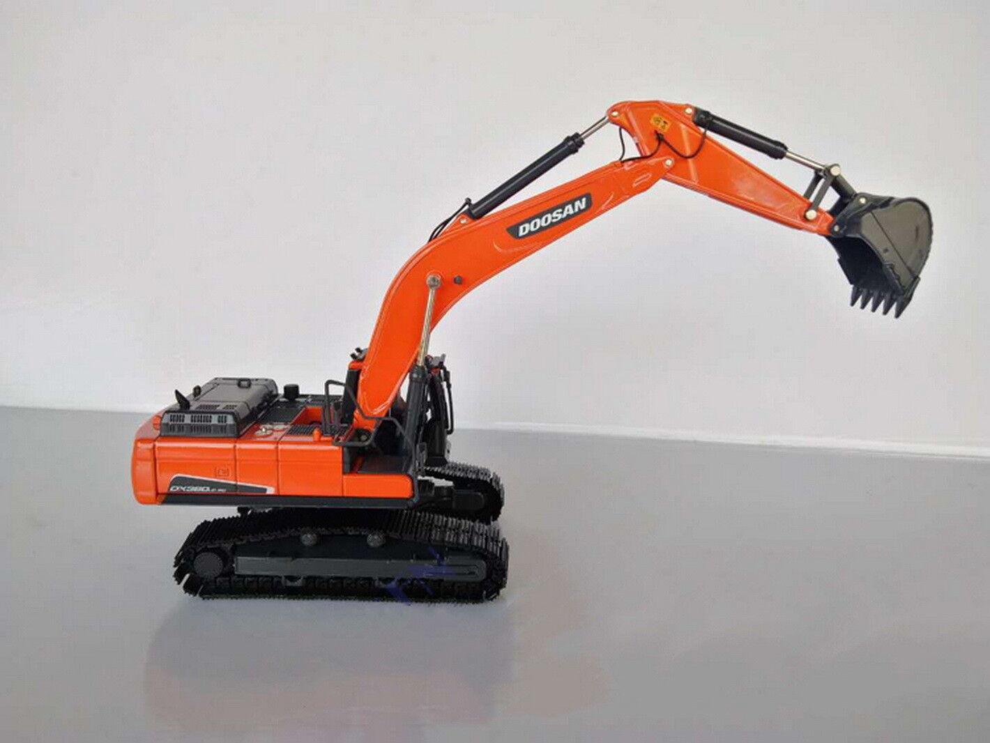 1 50 DOOSAN DX380LC-9C Hydraulic Hydraulic Hydraulic Excavator Engineering Vehicle Diecast Model 95139e