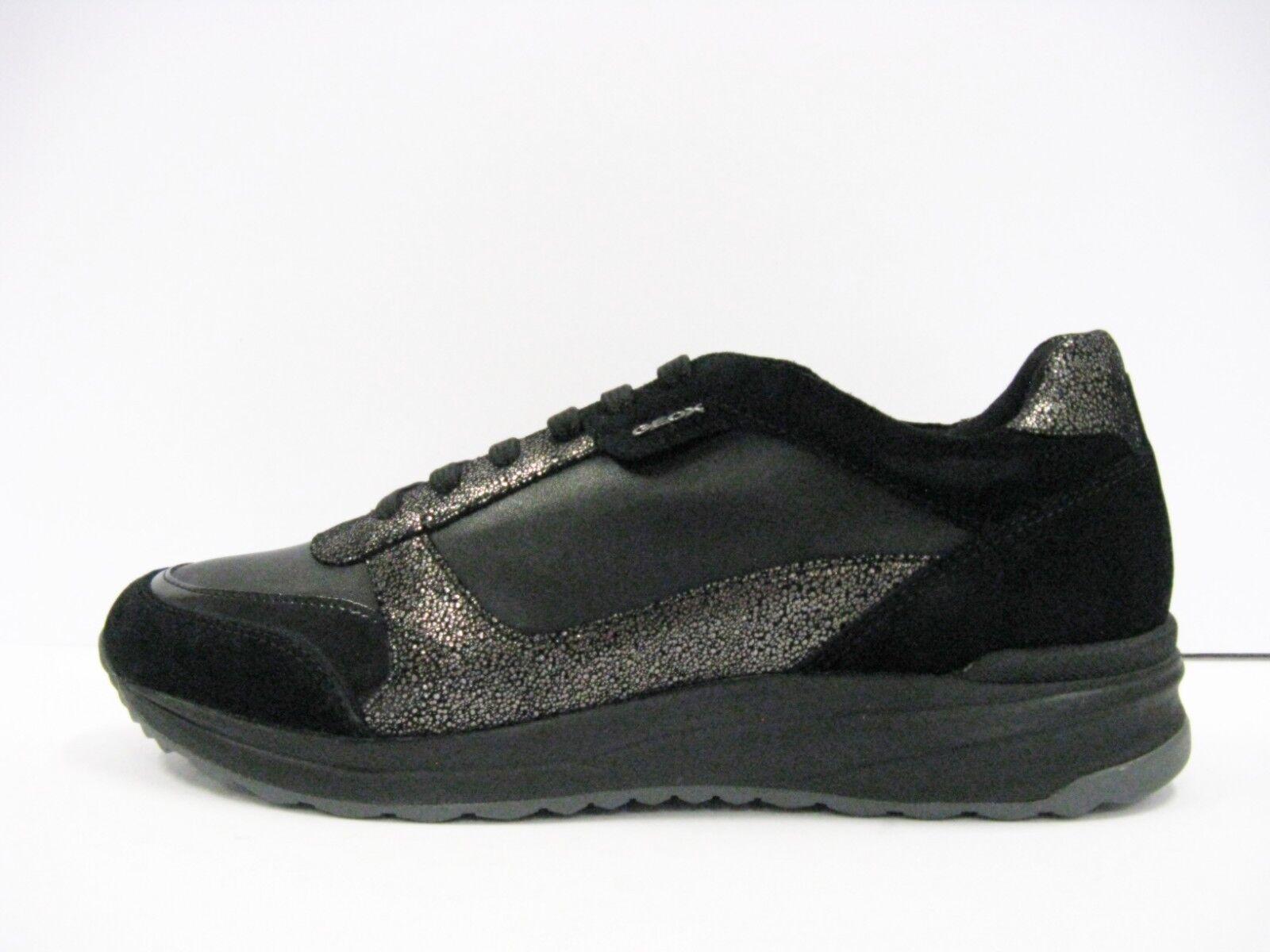 GEOX D642SC AIRELL scarpa donna geobuck e camoscio nero suola gomma traspirante | Per Vincere Elogio Caldo Dai Clienti  | Uomo/Donna Scarpa