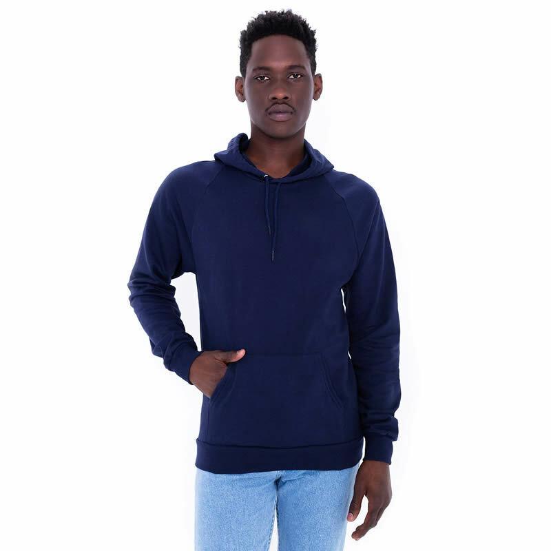 American Apparel California Fleece Pullover Hoodie - Navy