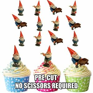 Gnome Cake Toppers Uk