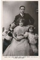 POSTCARD  ACTORS   George  Robey  and  Family