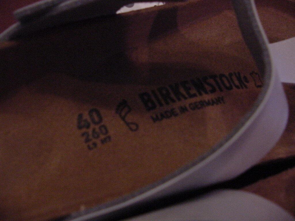 Birkenstock Gizeh   40R  L 9 M 7 Graceful Silver