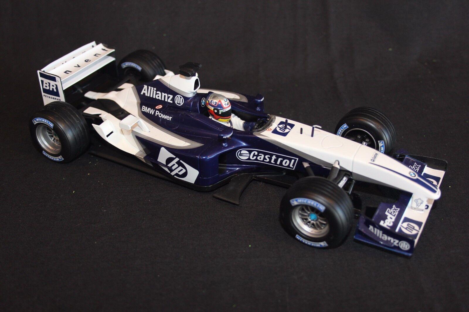 Hot Wheels Williams FW25 2003 1 18  3 Juan Pablo Montoya (COL)