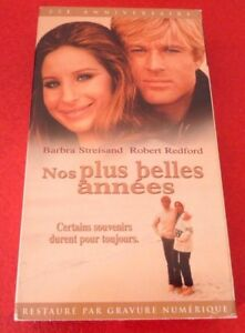 VHS-Movie-Nos-Plus-Belles-Annees-Version-Francaise-B-Streisand-R-Redford