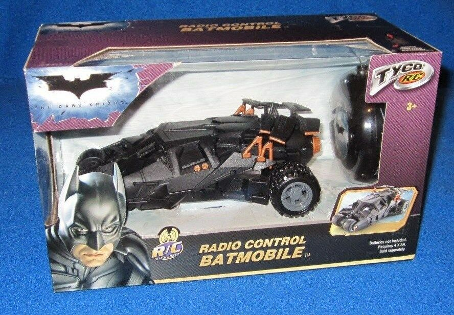 Tyco RC Batman Little Rides Radio Control Batmobile 27 MHZ NEW M0665