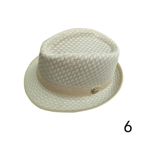 Panamahut Strohhut Trilby Hut Gartenhut Hutband Sommerhut Damen-Herren I5B0