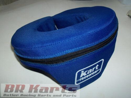 Neck Brace Blue Go Kart Racing Safety Youth Wedge Helmet Support