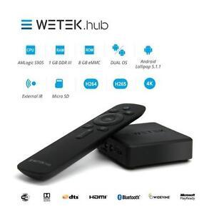 Wetek-HUB-Wireless-4K-UHD-Android-amp-libreele-TV-Box-con-Bluetooth-amp-GRATIS-UK-P-amp-P