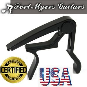 US-Guitar-Capo-Trigger-Quick-Change-Key-Clamp-Ukulele-Mandolin-Acoustic-Electric