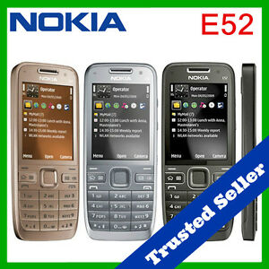 ~ ORIGINAL ~ Nokia E52 Mobile Cell Phone Package