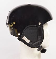 Capix JR. SHORTY SNOW HELMET Youth Snowboard Ski Helmet Gloss Black NEW