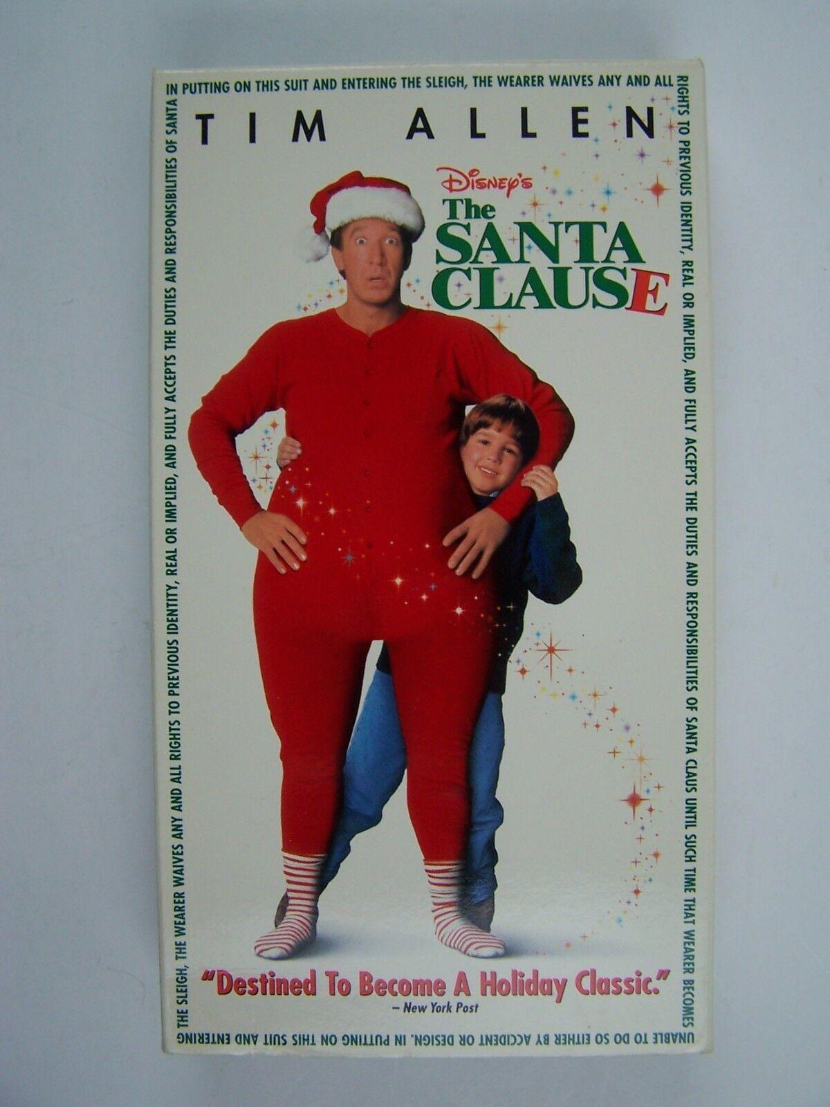 The Santa Clause VHS Tim Allen 786936363333