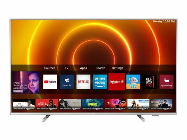 Philips PUS7855 65″ 4K LED Smart TV – Argento Chiaro Offerte e sconti