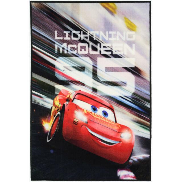KIDS EXPRESS DISNEY CARS McQUEEN FUN FLOOR RUG (XS) 100x150cm **FREE DELIVERY**