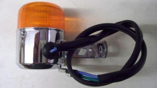 RETRO  Blinker orange vorn-rechts /& hinten links passend Skyteam DAX Monkey PBR
