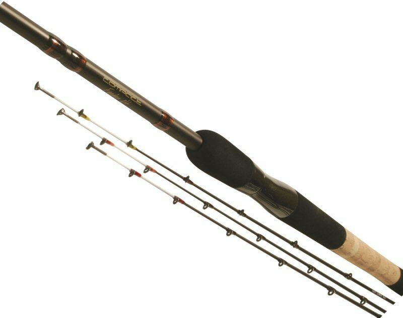 TF Gear New Compact Commercial Feeder Rods 8' (3 quiver tips) TFG SALE RRPú99.99