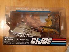 JOE COBRA 25th Anniversary MIB Armadillo Tank Serpentor/'s Air Chariot G.I