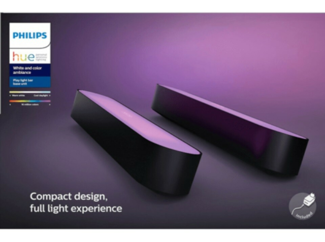 LED, Philips Hue, Philips Hue Play Lightbar Doppelpack…