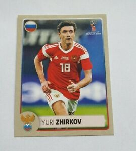 Panini-coupe-du-monde-2018-m5-Yuri-Zhirkov-Russie-Russia-McDonalds-World-Cup-18