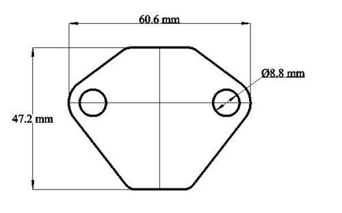 Bomba de combustible Placa de supresión en Blanco-Original Bosch Alfa Romeo Alfasud Sprint 33 planas 4 Boxer