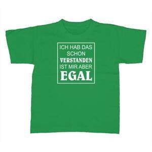 Kinder-T-Shirt-Verstanden-aber-egal-Fun-Party