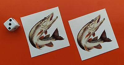"x2 Superb Quality 6/"" Pike  Decal printed on high quality waterproof vinyl"