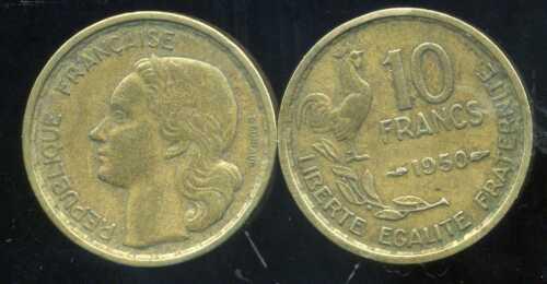 etat FRANCE  10 francs  1950  GUIRAUD