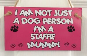 MDF Wall Plaque//Sign I/'m Not Just A Dog Person I/'m A Husky Mummy