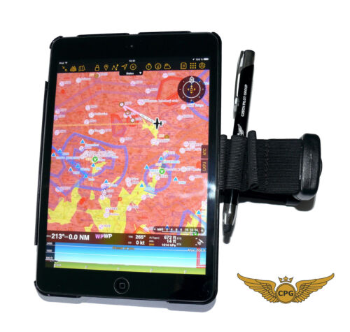 iPad Mini 1//2//3 flight Kneeboard with Pen//Stylus aviation Pilot