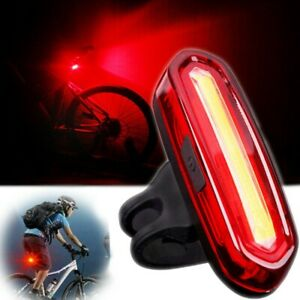 LED-USB-Rechargeable-Bike-Tail-Light-Bicycle-MTB-Cycling-Warning-Rear-Lamp-NEW