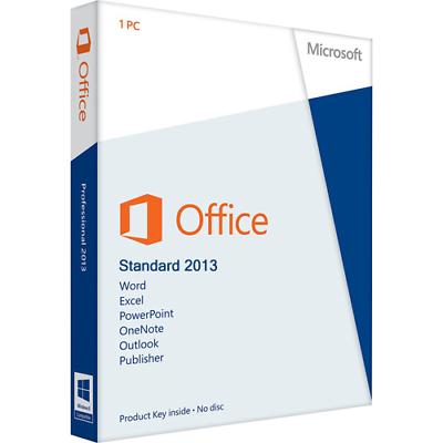 Computer, Tablets & Netzwerk Microsoft Office Standard 2013 32&64bit,usb-stick,deutsch Gutes Renommee Auf Der Ganzen Welt