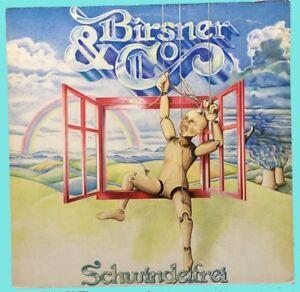 Birsner-amp-Co-Schwindelfrei-LP-Vinyl-Schallplatte-Rock-Sammlung-D-1980