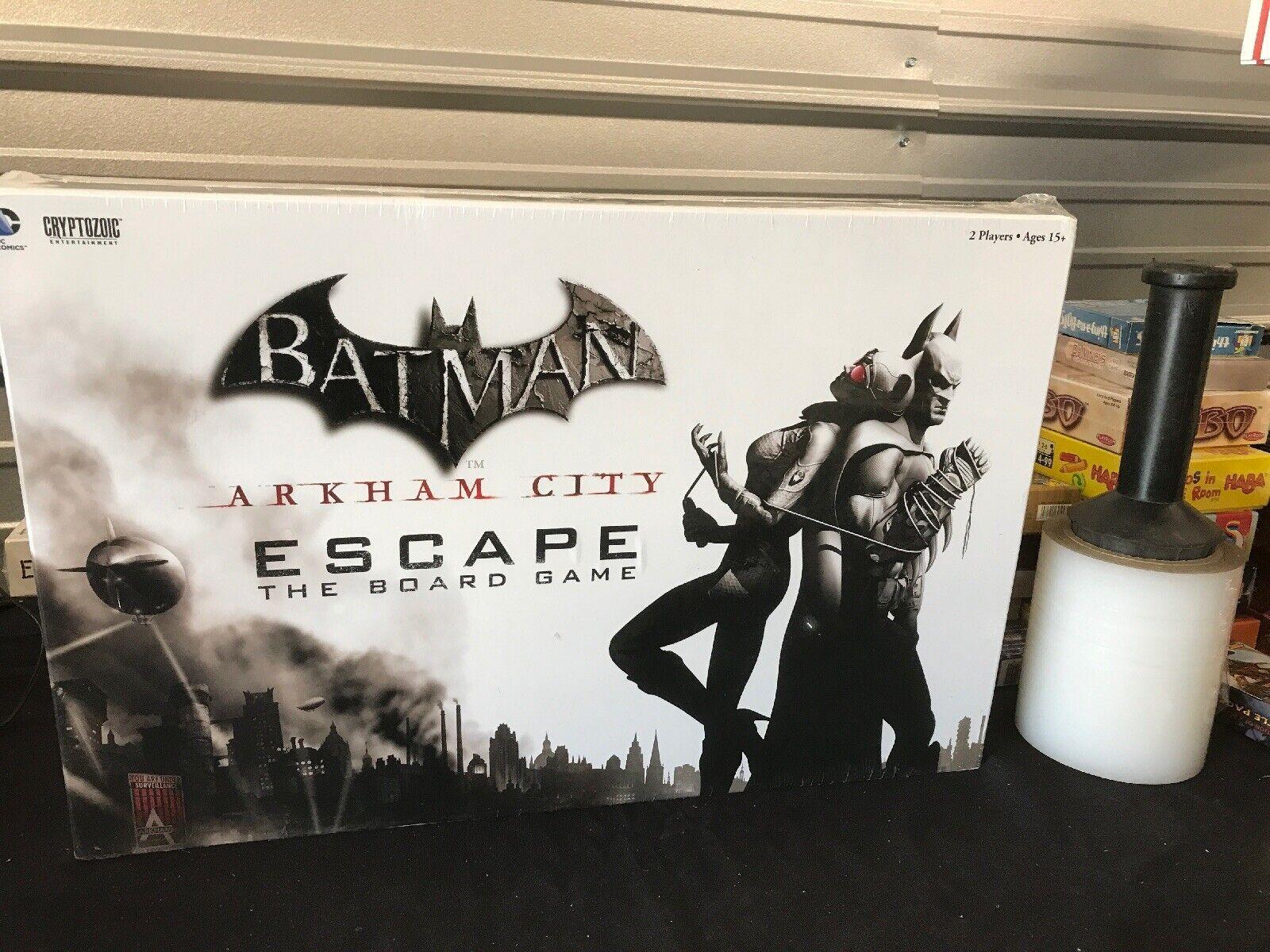 DC Comics-Batman - Arkham City ESCAPE Board Game NEW SEALED Cryptozoic F61