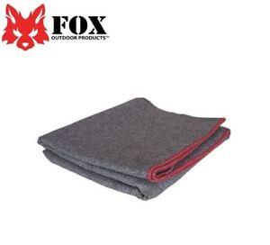 New-Fox-Outdoor-Wool-Camp-Blanket-Dark-Grey-8189