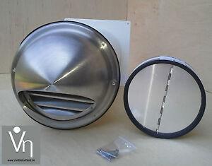mauerkasten nw 100 dunstabzug teleskop rohr r ckstauklappe edelstahl mkwske100 ebay. Black Bedroom Furniture Sets. Home Design Ideas