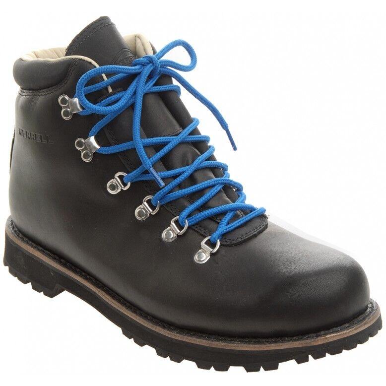 Men's Merrell Wilderness Canyon Black Leather Walking Boots UK 8 - 11.5