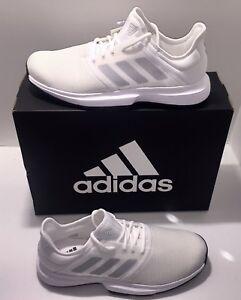 3c84c7a20e0d Men s Adidas Game Court White Sport Tennis Athletic Court Shoes Sz ...