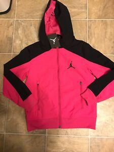 ed415f2ee6f2d6 Nike Air Jordan Flight Victory Full Zip Windrunner Grade School Sz S ...