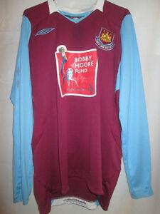 West-Ham-United-2008-2009-Home-Football-Shirt-Size-Large-15292
