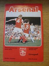 02/12/1978 Arsenal v Liverpool  (Folded, Token Removed)