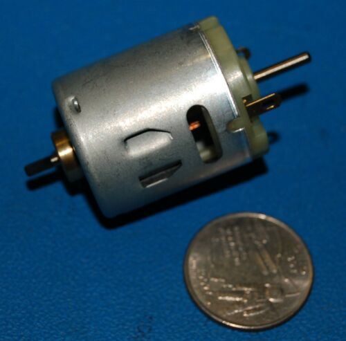 Johnson Electric HC315MG 12v Set of 2 24v DC Motor 9,000-18,000 RPM Hobby