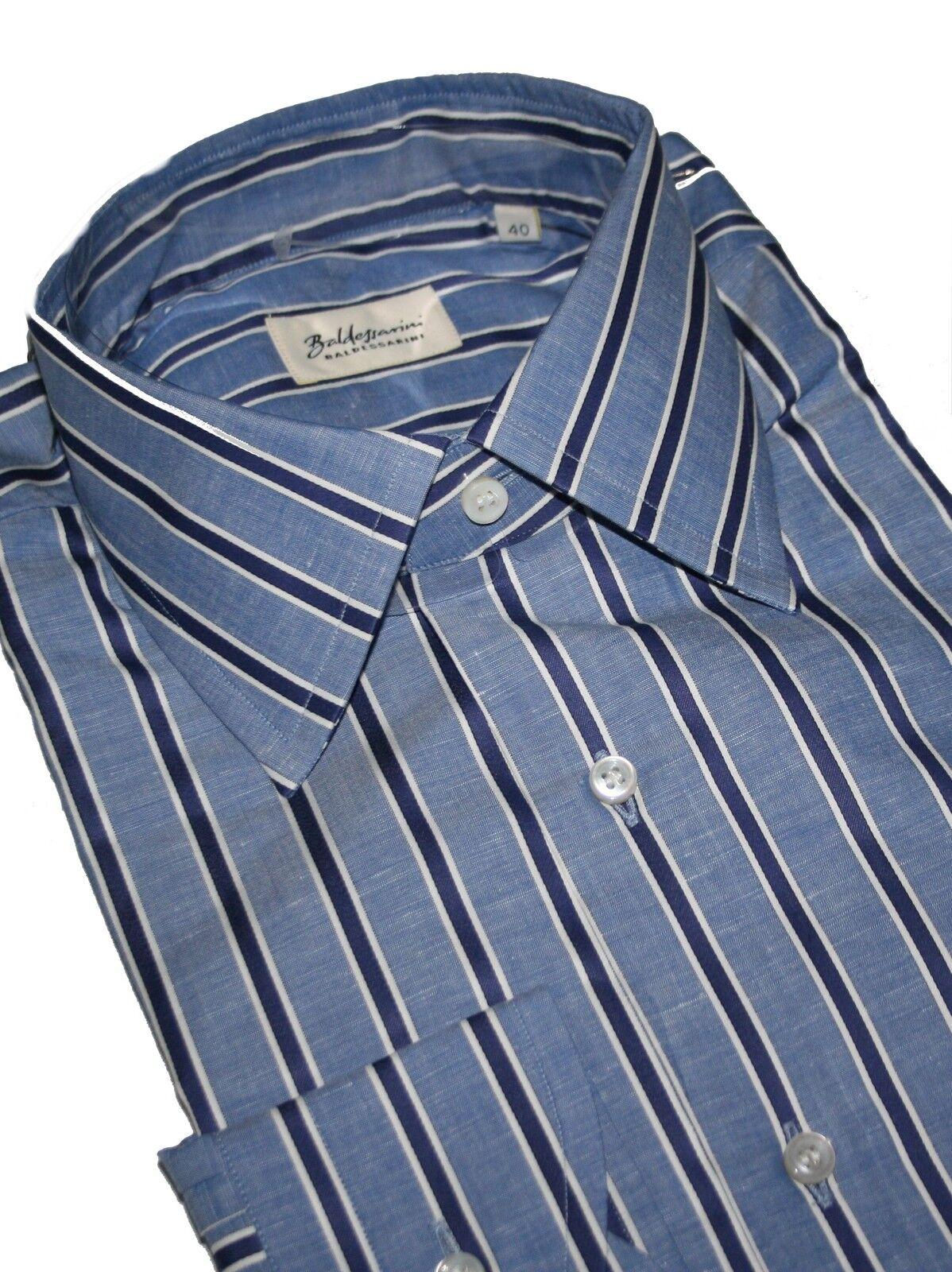 Baldessarini Firmato Camicia 7 Leinenmix- Camicia KW.40 con 30% Lino